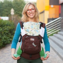 AIR ergonomic baby carrier - Fantasy Flow