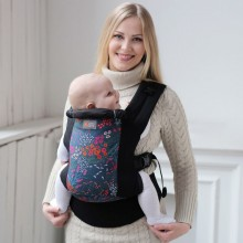 DLight ergonomic baby carrier - Flowers SALE