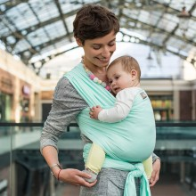Stretchy baby wrap - Mint SALE