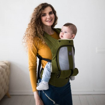 AIR ergonomic baby carrier - Olive