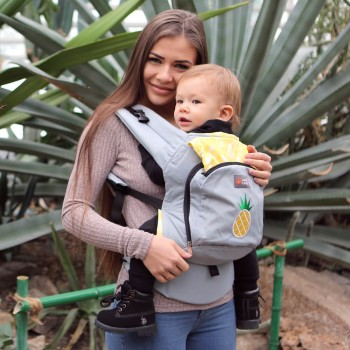AIR ergonomic baby carrier - Sweet Pineapple