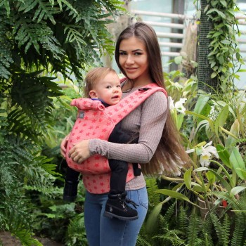 DLight Full Wrap Conversion ergonomic baby carrier - Universe
